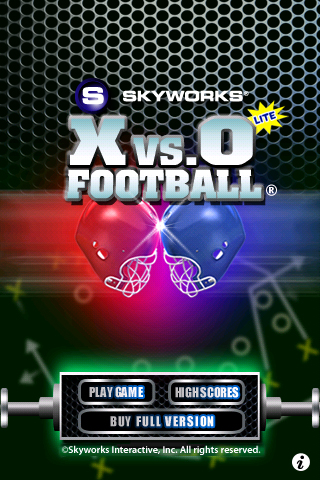 Screenshot X's and O's Football® Lite
